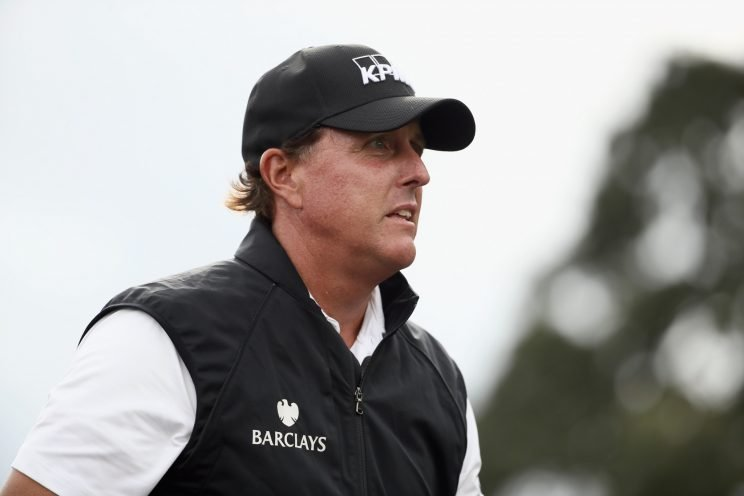 Phil Mickelson is now out indefinitely. (Getty Images)
