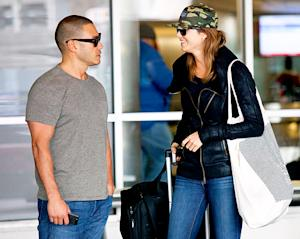 Stacy Keibler Flirts With New Boyfriend Jared Pobre at LAX, Five Months After George Clooney Split: Picture