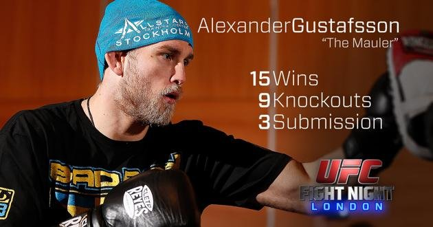 Alexander Gustafsson UFC Fight Night London