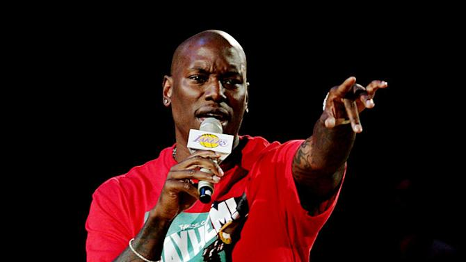 Gibson Tyrese Lakers Game
