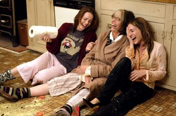 Rachel McAdams , Diane Keaton and Sarah Jessica Parker in 20th Century Fox's The Family Stone