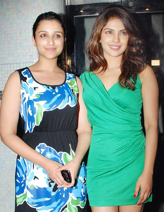 Priyanka Chopra, Parineeti Chopra
