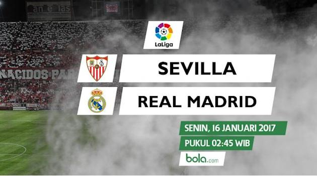 Susunan Pemain Sevilla Vs Real Madrid