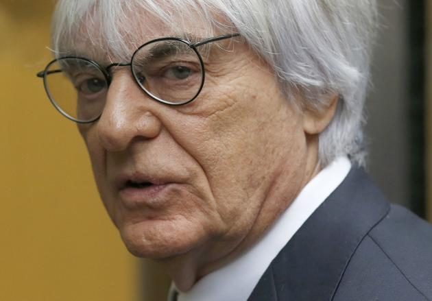 File photo of Formula One Chief Executive Bernie Ecclestone at the High Court in central London