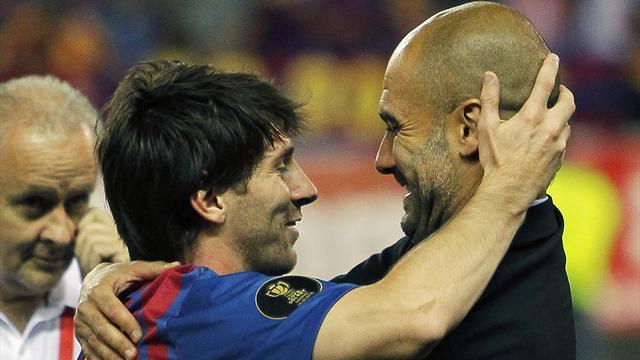 Liga - Guardiola lanza el mayor elogio a Messi