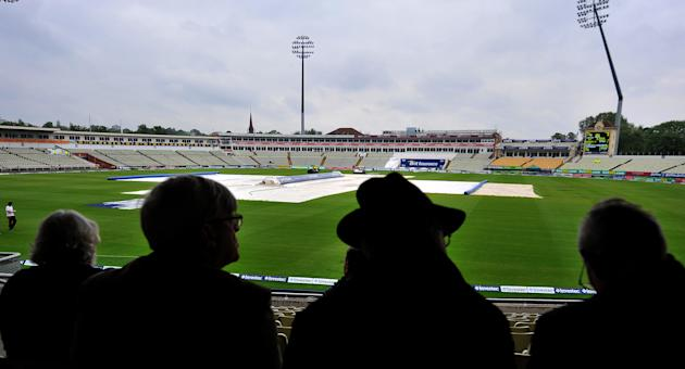 Rain at Edgbaston