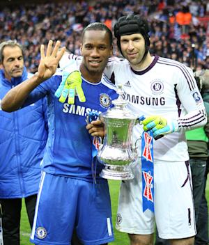 Petr Cech (right)