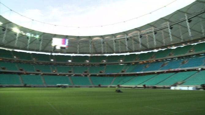 Salvador stadium ready for World Cup 2014
