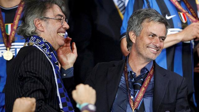 Serie A - Moratti: Mourinho won't come back to Inter
