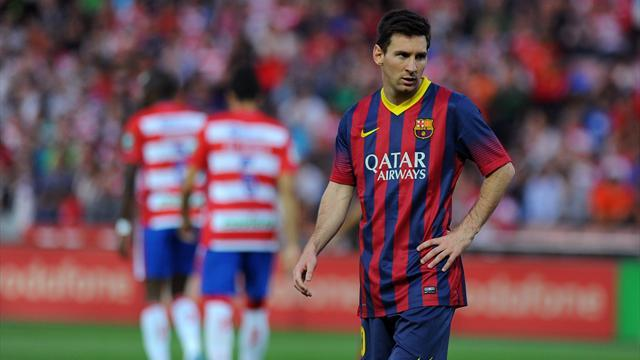 Liga - Zubizarreta: We've been spoiled by Messi