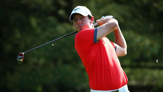 Golf - McIlroy soars into three-shot lead at the Memorial