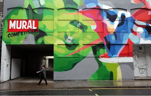 Europe's Largest Permanent Street Art Installation Returns To Bristol
