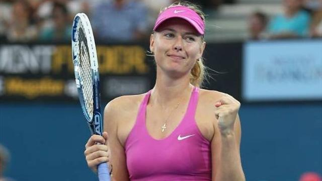 Australian Open - Impatient Sharapova realistic on grand slam return
