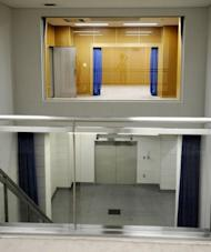 File photo of an execution room at the Japan's Justice Ministry detention centre in Tokyo. The last execution in Japan was in July 2010 when then justice minister Keiko Chiba, a former socialist and lawyer, approved the hanging of two inmates, despite her long-time opposition to the death penalty