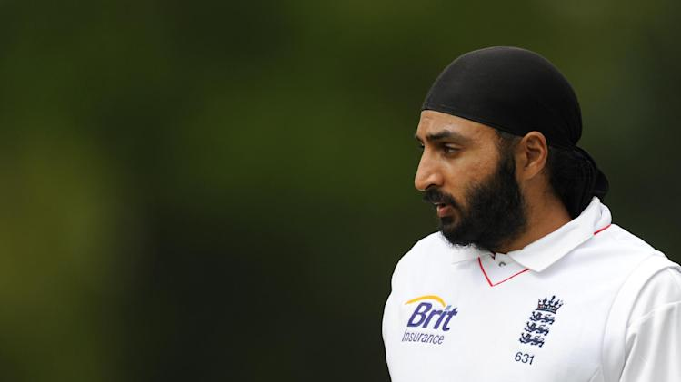 Monty Panesar's three wickets ensured England made early inroads on the first day