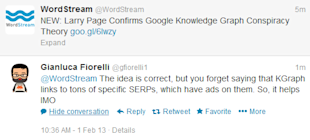Larry Page Confirms Google Knowledge Graph Conspiracy Theory image knowledge graph increases ad revenue