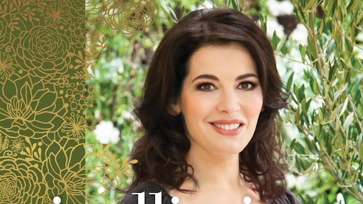 "This publicity photo provided by Clarkson Potter shows the cover of Nigella Lawson's book, ""Nigellissima.""  Lawson is no stranger to these shores. But with a new cookbook, ""Nigellissima,"" coming on the heels of a new celebrity-rich reality food television show on ABC, the English food star seems intent on leaving a larger mark on the American culinary scene. (AP Photo/Clarkson Potter)"