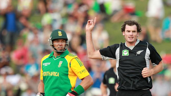 New Zealand v South Africa - 2nd One Day International