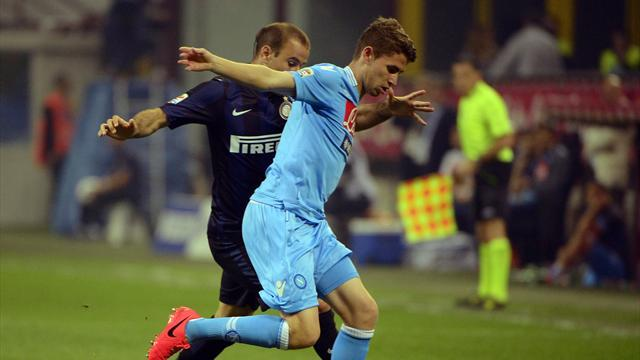 Serie A - Napoli fail to take chances in draw with Inter
