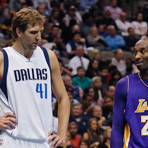 Watch: Kobe Bryant once recruited Dirk Nowitzki to join Lakers