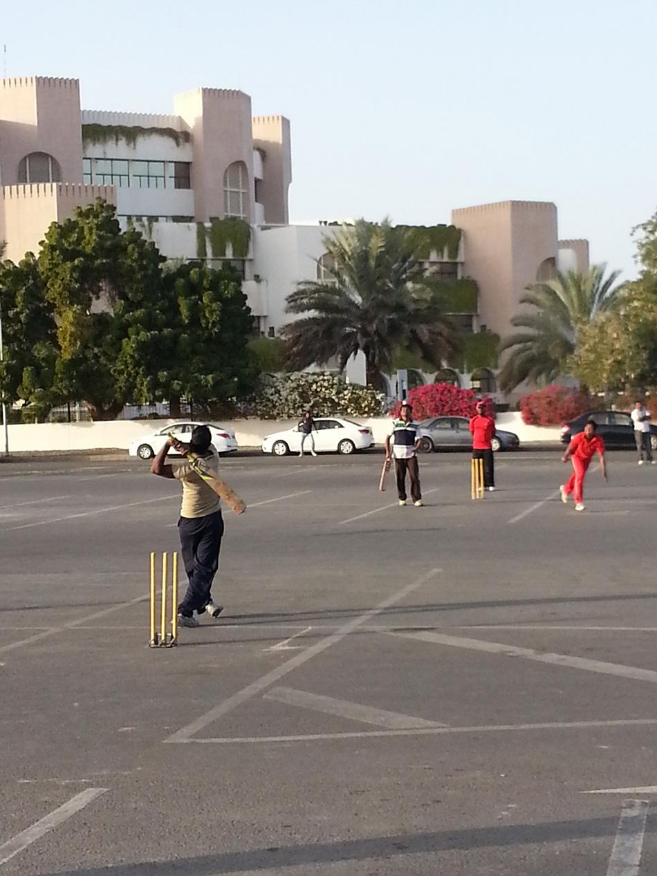 Sizzling Six at Muscat, Oman, by Khaja Moinuddin [SCPC5]