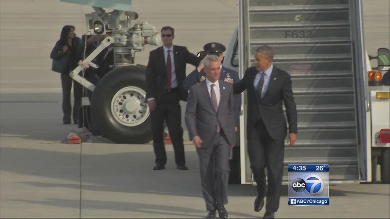 Mayor Emanuel releases radio ads featuring President Obama