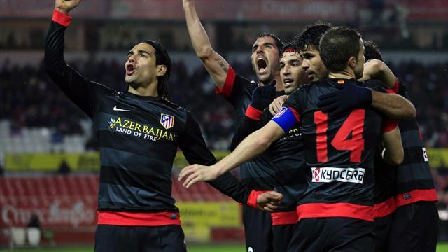 Liga - Atletico set up all-Madrid final with Real