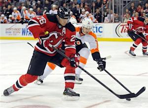 Clarkson's goal in 3rd leads Devils over Flyers