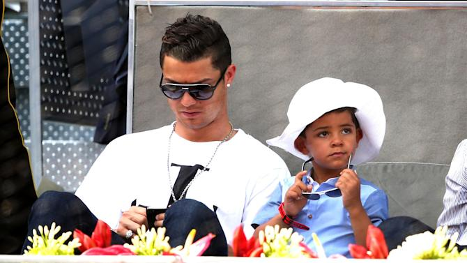 Liga - Ronaldo: I dream of my son being a footballer