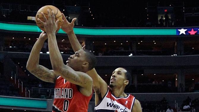 Portland Trail Blazers v Washington Wizards