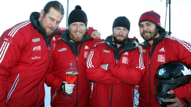 Bobsleigh - Something in the hair for Canadian bobsleigh team
