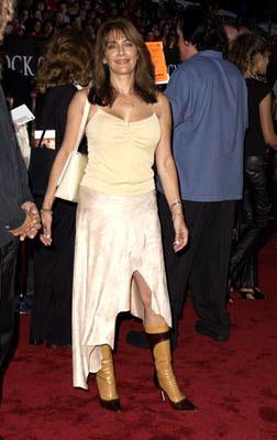 Premiere: Marina Sirtis at the Westwood premiere of Warner Brothers' Rock Star - 9/4/2001