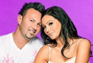 "Roger Mathews and Jenni ""JWoww"" Farley 