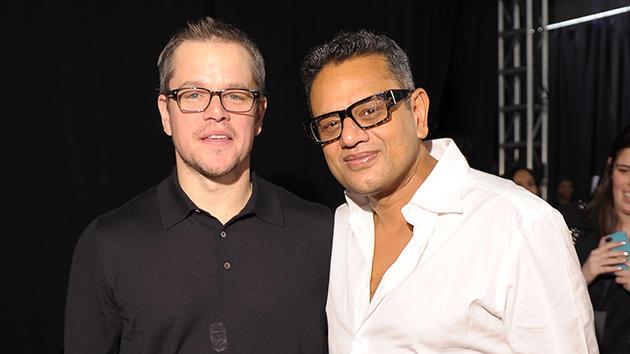 Matt Damon, Naeem Khan