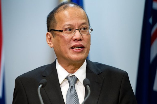 Philippine President Benigno Aquino seen here during a visit to Wellington on October 23, 2012. Aquino insists that civilians have the right to carry guns for self-defence, after a series of deadly shootings prompted calls for a total firearms ban