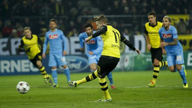 Champions League - Dortmund stop the rot to throw group wide open