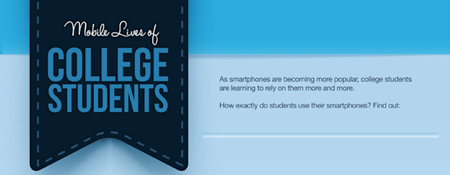Smartphone Use By College Students (Infographic) image smartphone use college students