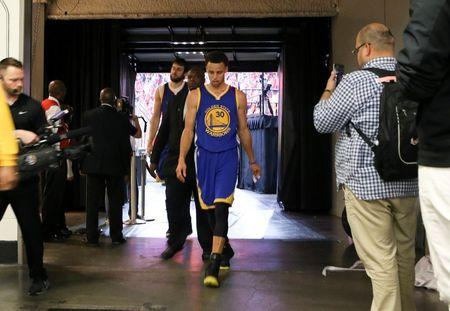 NBA: Playoffs-Golden State Warriors at Houston Rockets
