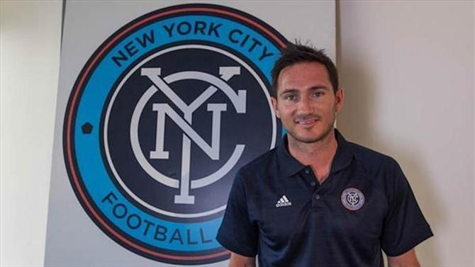 MLS - Lampard completes New York switch