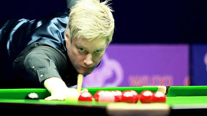 Snooker - Robertson edges scintillating Wuxi Classic final
