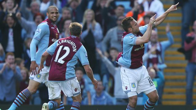 Premier League - Weimann double lifts Aston Villa to safety
