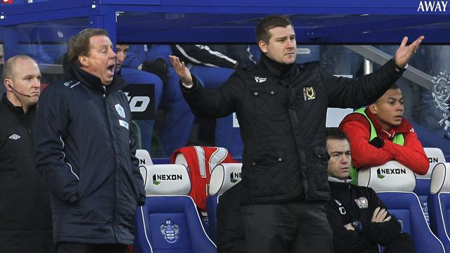 FA Cup - Redknapp disgusted by QPR Cup humiliation