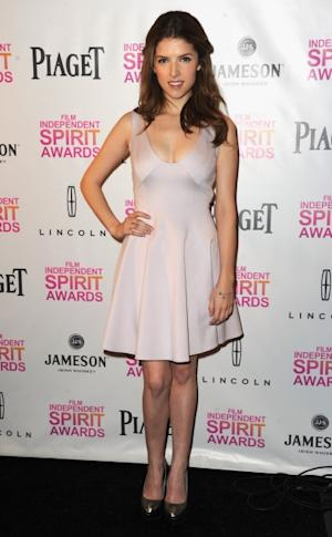 Anna Kendrick attends the 2013 Film Independent Spirit Awards Nominations Press Conference at the W Hollywood on November 27, 2012 in Hollywood -- Getty Images