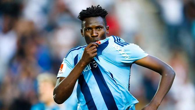 Olunga scores late to lift Swedish club