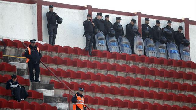 South American Football - Argentine players robbed as 'hooligans' break into club