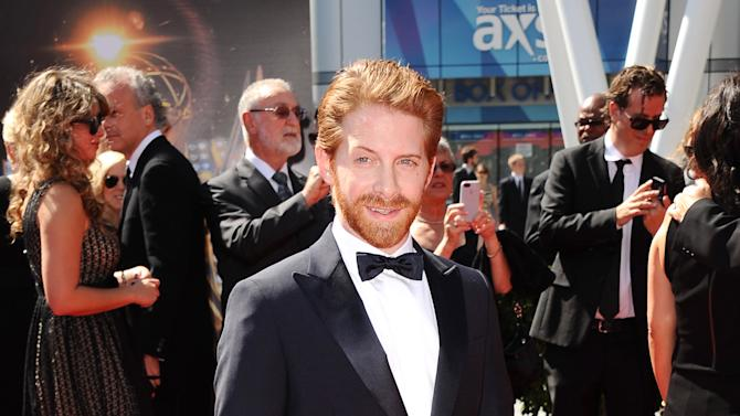 Actor Seth Green arrives at the 2013 Primetime Creative Arts Emmy Awards, on Sunday, September 15, 2013 at Nokia Theatre L.A. Live, in Los Angeles, Calif. (Photo by Scott Kirkland/Invision for Academy of Television Arts & Sciences/AP Images)
