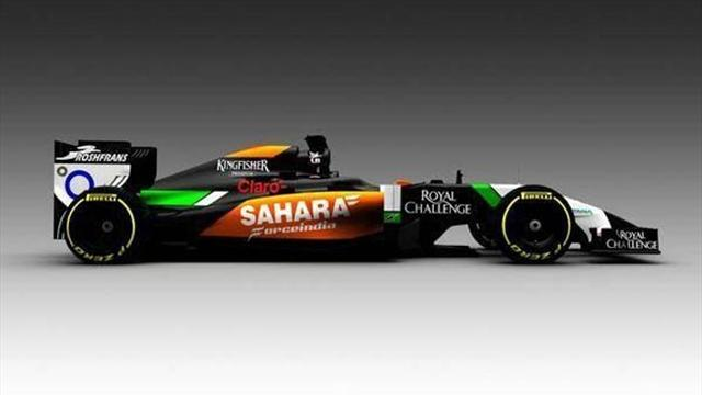 Formula 1 - Force India's 2014 F1 car emerges