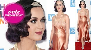 Is Katy Perry's Satin Dress Unflattering?