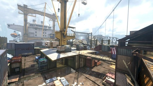 Call of Duty: Ghosts Collision map