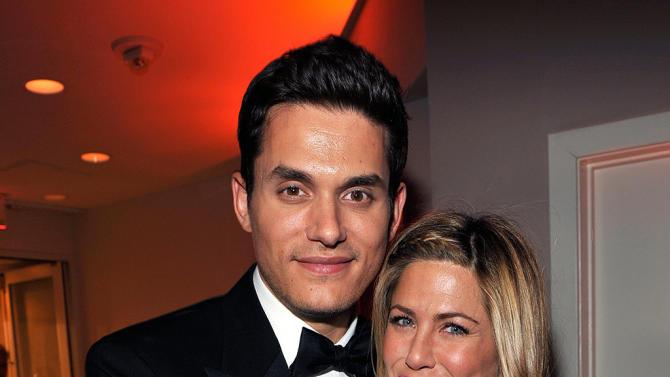 John Mayer and Jennifer Aniston